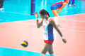 Victoriia chaplina at vollayball world grand prix preliminary round pool l week august puerto rico russia Royalty Free Stock Photography