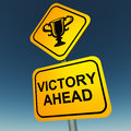 Victory Royalty Free Stock Photo
