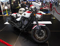 Victory motorcycle hammer dubai uae november on display at the dubai motor show uae Stock Photography