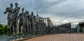 Victory park holocaust monument memorial in moscow russia Stock Images