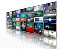 Video Display Royalty Free Stock Image