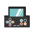 Video game console portable
