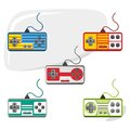 Video game console set