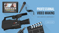 Video making banner