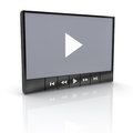 Video player Stock Images