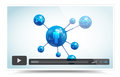 Video player this image is a vector file representing a Stock Photography