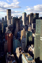 Vie de Manhattan Images libres de droits