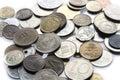 Vieil argent 3 Photographie stock