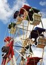 Vieille roue géante Photographie stock