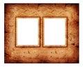 Viejo marco del extracto de la manera Fotografía de archivo libre de regalías