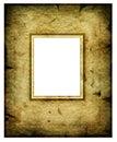 Viejo marco del extracto de la manera Imágenes de archivo libres de regalías