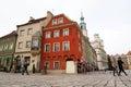 Viejo mercado de poznán Foto de archivo