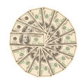 Viel hundert Dollar Lizenzfreies Stockfoto