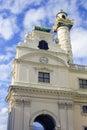 Vienna Austria Karlskirche Baroque Catholicism Charles Church Royalty Free Stock Photo