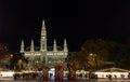 VIENNA, AUSTRIA - NOVEMBER 13, 2015: Traditional Christmas market