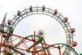 VIENNA, AUSTRIA - OCTOBER 27, 2015: Giant Ferris Wheel in Prater Royalty Free Stock Photo
