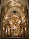 Vienna - baroque altar from Royalty Free Stock Photography