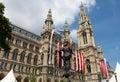 Vienna City Hall Royalty Free Stock Photography