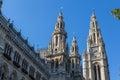 Vienna City Hall Royalty Free Stock Photo
