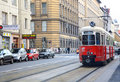 Vienna city tram Stock Image