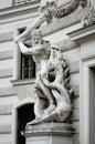 Vienna, detail fo Hofburg Palace Royalty Free Stock Photo