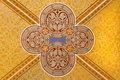 Vienna - Detail from fresco on the ceiling in Carmelites church Royalty Free Stock Photography