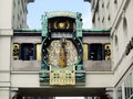 Vienna - Historic clock Royalty Free Stock Photography