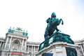 Vienna Hofburg Imperial Palace Royalty Free Stock Photo