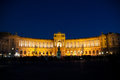 Vienna Hofburg Imperial Palace at night, - Austria Royalty Free Stock Photo