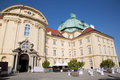 Vienna monastery in klosterneuburg from west on july Stock Image