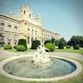 Vienna retro Royalty Free Stock Photo