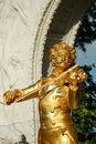 Vienna: Strauss monument  Royalty Free Stock Photo