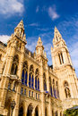 Vienna town hall architecture Royalty Free Stock Photo