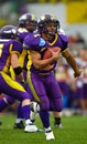 Vienna Vikings vs. Bergamo Lions Stock Photos