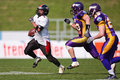 Vienna Vikings vs. Carinthian Black Lions Royalty Free Stock Photography