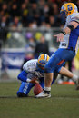 Vienna Vikings vs. Graz Giants Stock Photos