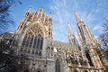 Vienna -  Votivkirche  neo - gothic church Royalty Free Stock Photos