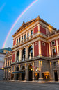 Viennese music association wiener musicverein a concert hall built in in vienna austria Royalty Free Stock Image