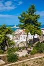 Vieste Lighthouse, Gargano Peninsula, Apulia,Italy Royalty Free Stock Photo
