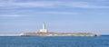 Vieste lighthouse island gargano puglia eufemia Royalty Free Stock Photo