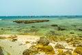 Vietnam beach on ly son island Royalty Free Stock Photo