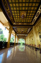 Vietnam Dai Nam temple interior Royalty Free Stock Photo
