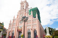 Vietnam danang cathedral the church was originally in for the construction of local french people has now become more than four Royalty Free Stock Image