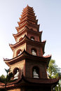 Vietnam, Hanoi: Temple Ngoc Son Royalty Free Stock Images
