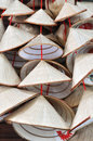 VietNam straw hat decoration Royalty Free Stock Photo