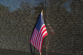 Vietnam Veterans Memorial Wall Royalty Free Stock Photo