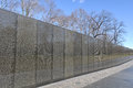 Vietnam war memorial washington dc january names on veterans on july in washington dc usa the receives around million Stock Photo