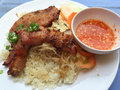Vietnamese broken rice or Com tam Royalty Free Stock Photo