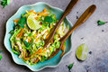 Vietnamese cabbage salad. Royalty Free Stock Photo