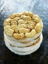 Vietnamese cashew cake Stock Photo